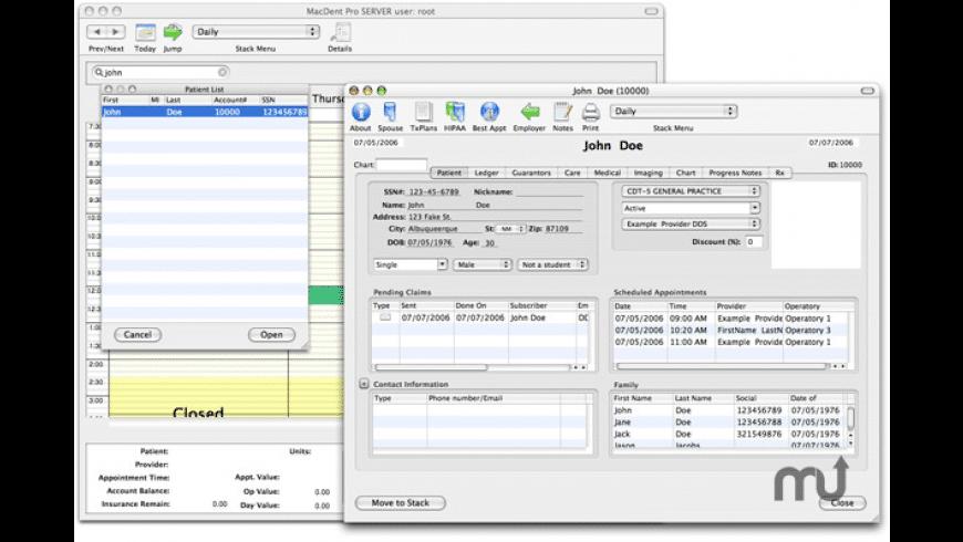 MacDent Pro for Mac - review, screenshots