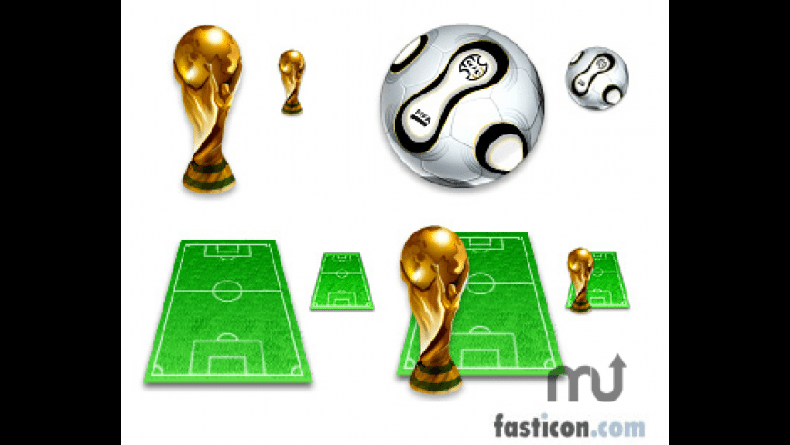 World Cup 2006 Icons for Mac - review, screenshots