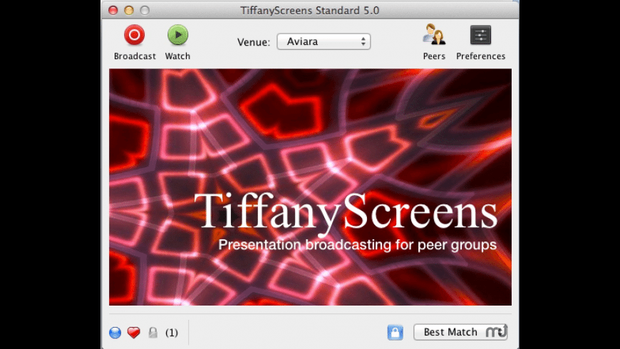 TiffanyScreens for Mac - review, screenshots