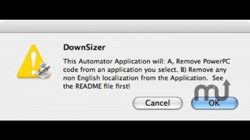 DownSizer for Mac - review, screenshots