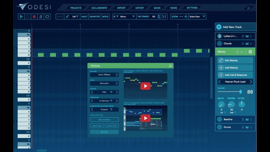 Odesi for Mac - review, screenshots