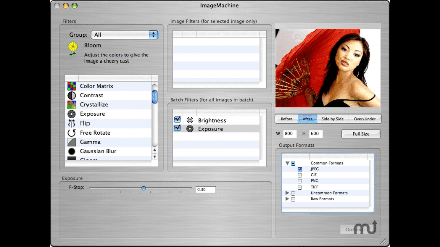 ImageMachine for Mac - review, screenshots