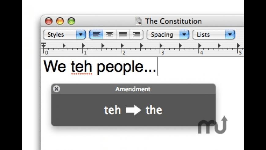 Amendment for Mac - review, screenshots