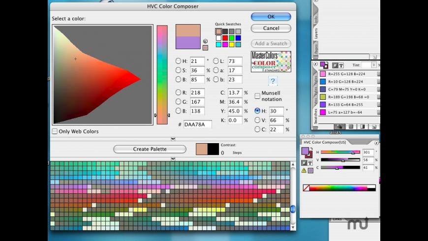 HVC Color Composer for Mac - review, screenshots