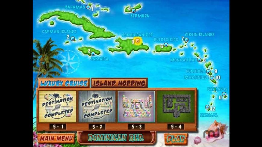 Caribbean Mah Jong for Mac - review, screenshots