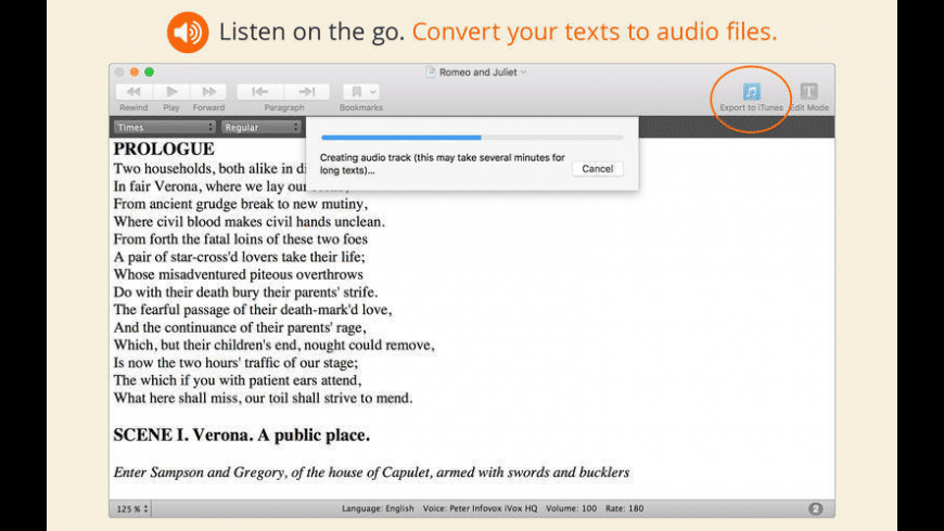 GhostReader for Mac - review, screenshots