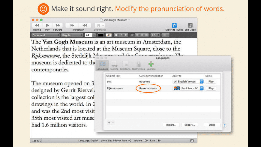 GhostReader for Mac - review, screenshots