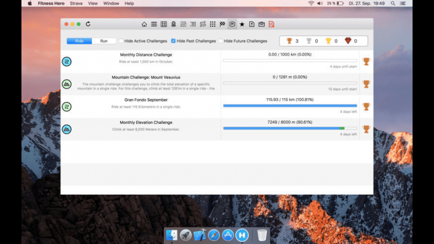 Fitness Hero for Mac - review, screenshots