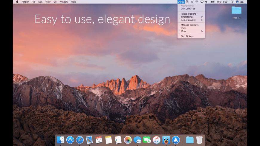 Tickey for Mac - review, screenshots
