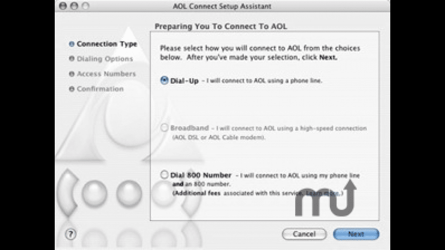 AOL Connect for Mac - review, screenshots