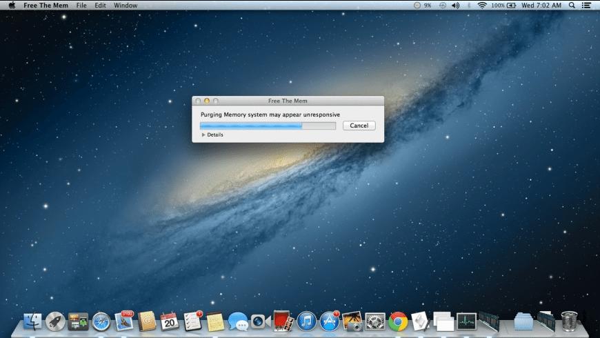 MemoryOptimizer for Mac - review, screenshots