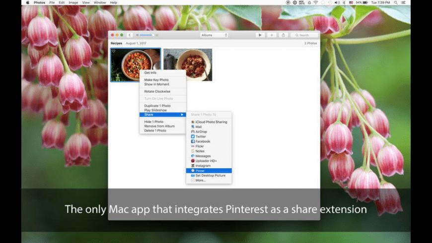 Pinner for Mac - review, screenshots