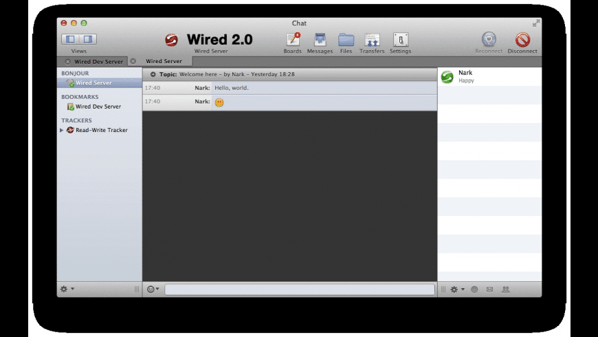 Wired Client for Mac - review, screenshots
