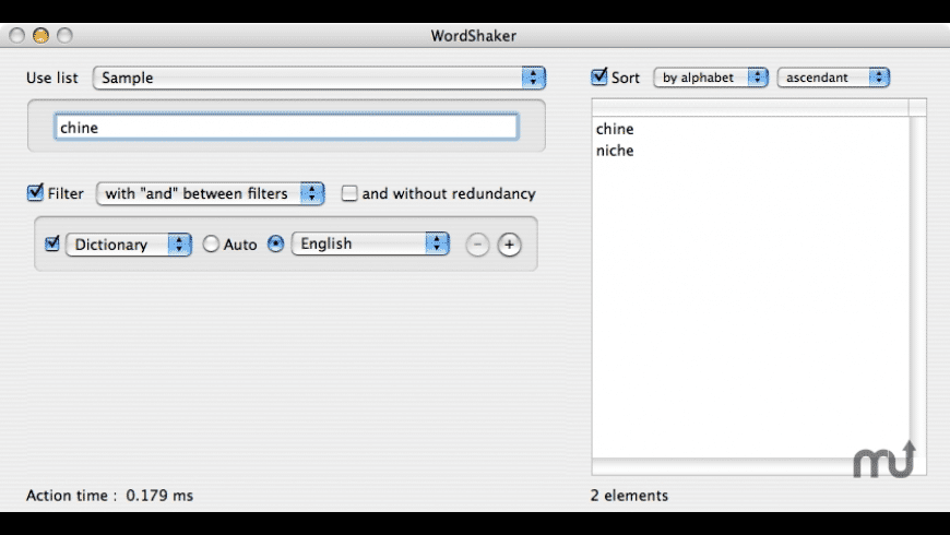 WordShaker for Mac - review, screenshots