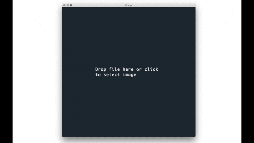 Croppr for Mac - review, screenshots