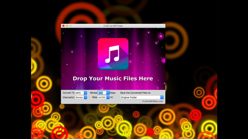 FLAC to MP3 for Mac - review, screenshots