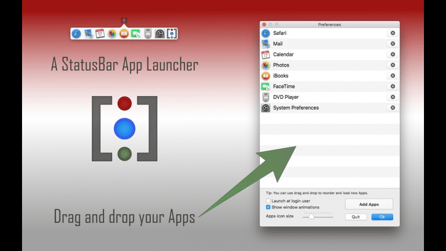 iBARLauncher for Mac - review, screenshots