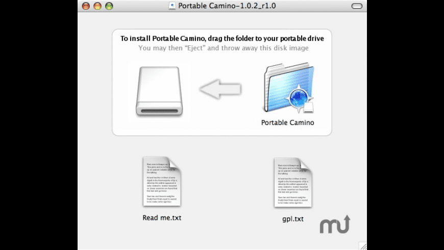 Portable Camino for Mac - review, screenshots