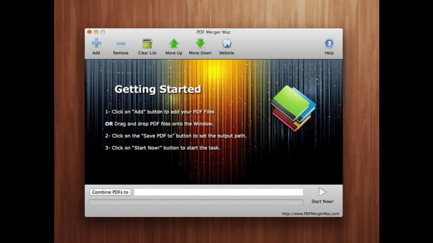 PDF Merger for Mac - review, screenshots