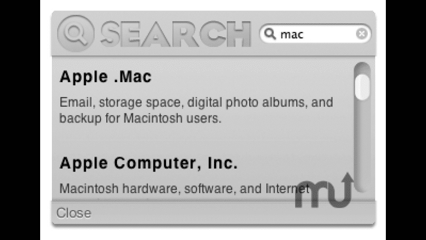 Search The Web for Mac - review, screenshots