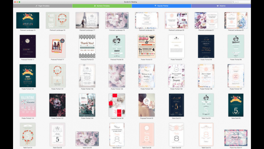 Bundle for Wedding for Mac - review, screenshots
