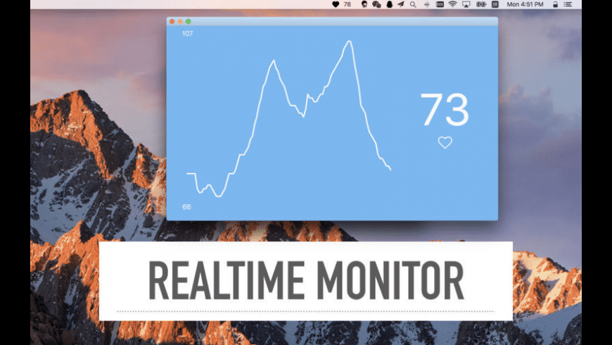 Heart Monitor for Mac - review, screenshots