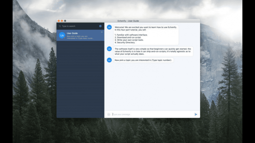 Echonify for Mac - review, screenshots