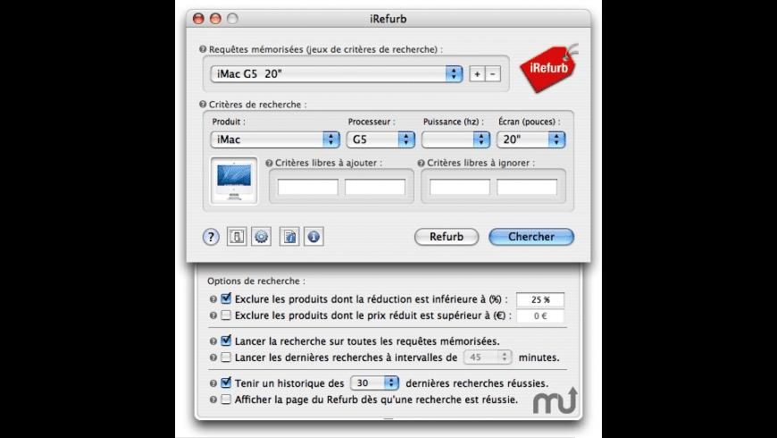 iRefurb for Mac - review, screenshots