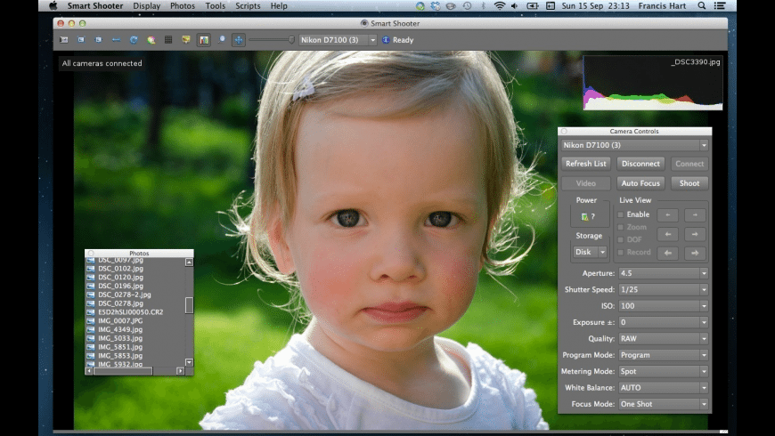 Smart Shooter Mac 破解版 数码相机控制软件-麦氪搜(iMacso.com)