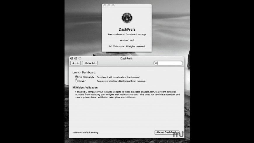 DashPrefs for Mac - review, screenshots