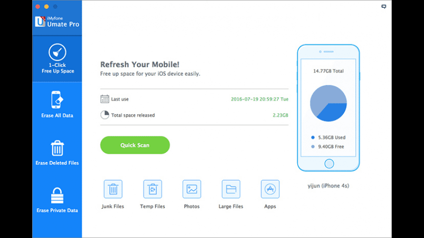 iMyfone Umate Pro for Mac - review, screenshots