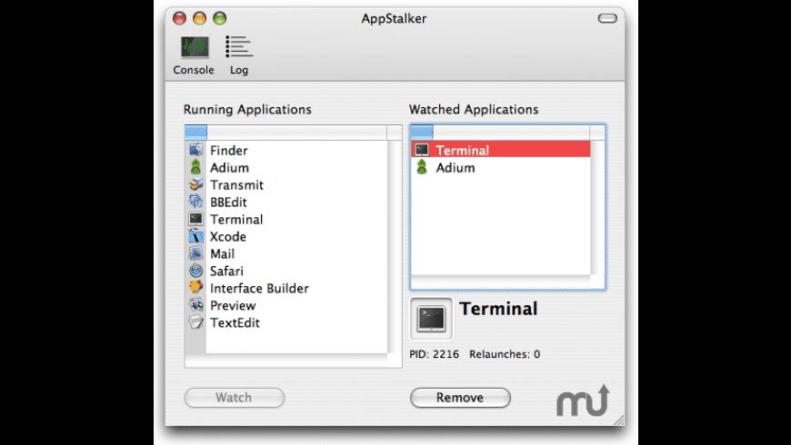 AppStalker for Mac - review, screenshots