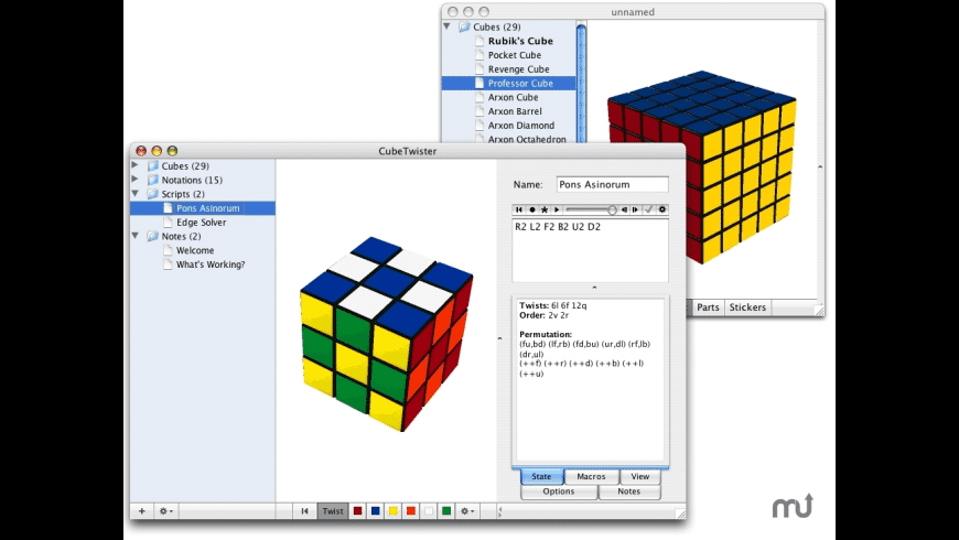 CubeTwister for Mac - review, screenshots