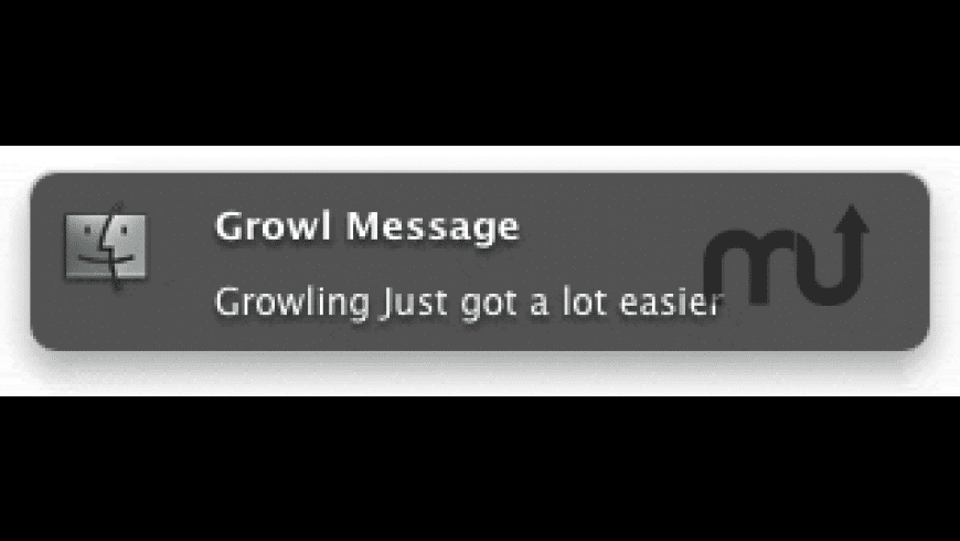 GrowlMessage for Mac - review, screenshots