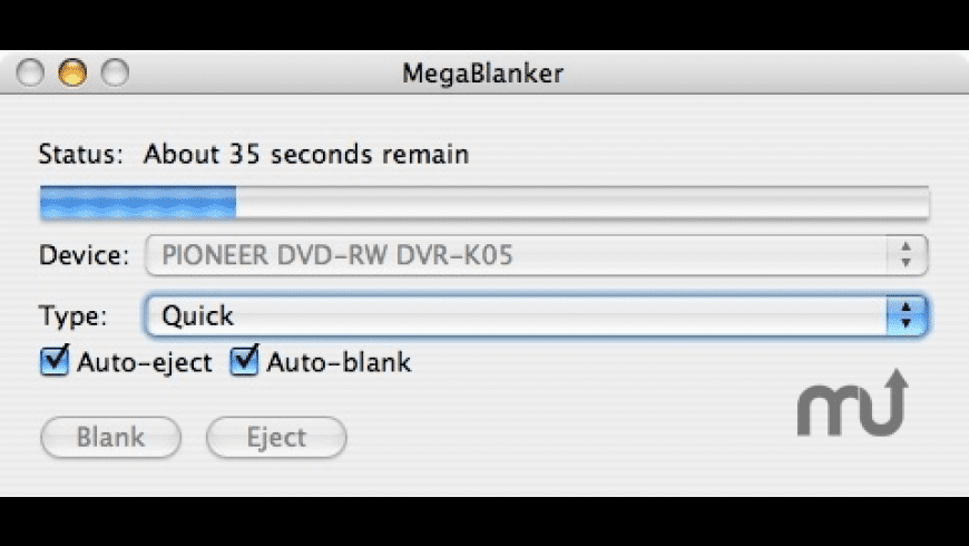 MegaBlanker for Mac - review, screenshots
