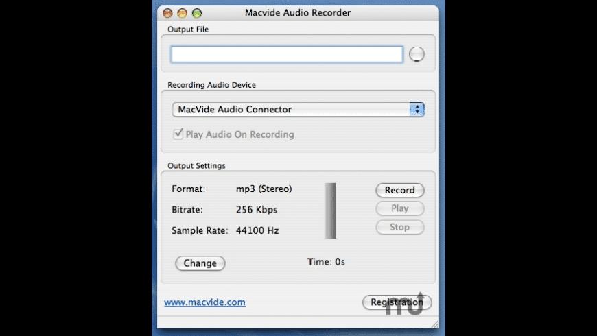 Audio Recorder for Mac - review, screenshots
