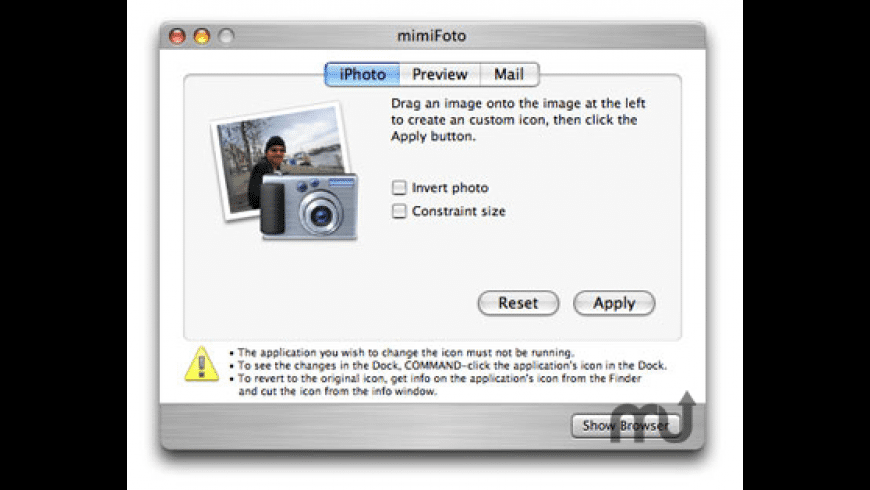 mimiFoto for Mac - review, screenshots