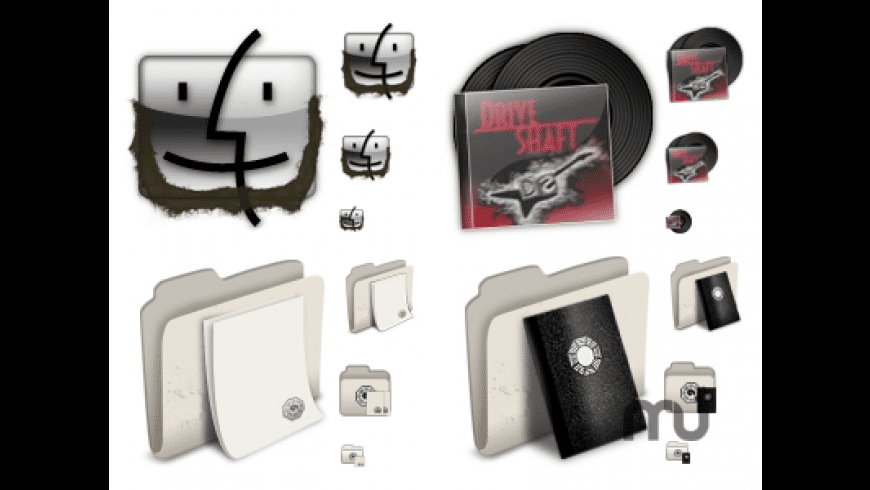LOST System Replacement Icons for Mac - review, screenshots