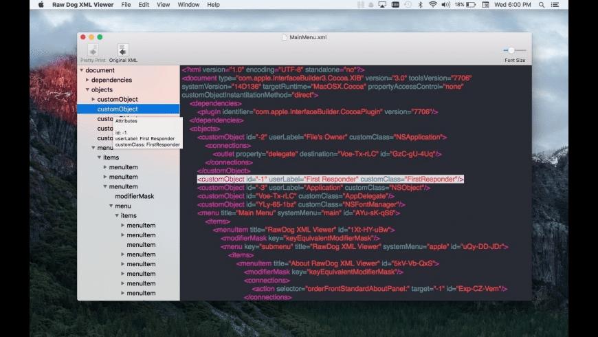 Raw Dog XML Viewer for Mac - review, screenshots
