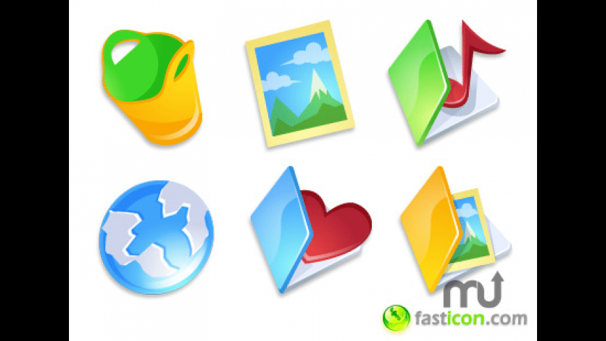 iComic Extras Icons for Mac - review, screenshots