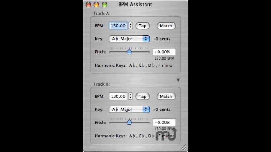 BPM Assistant for Mac - review, screenshots