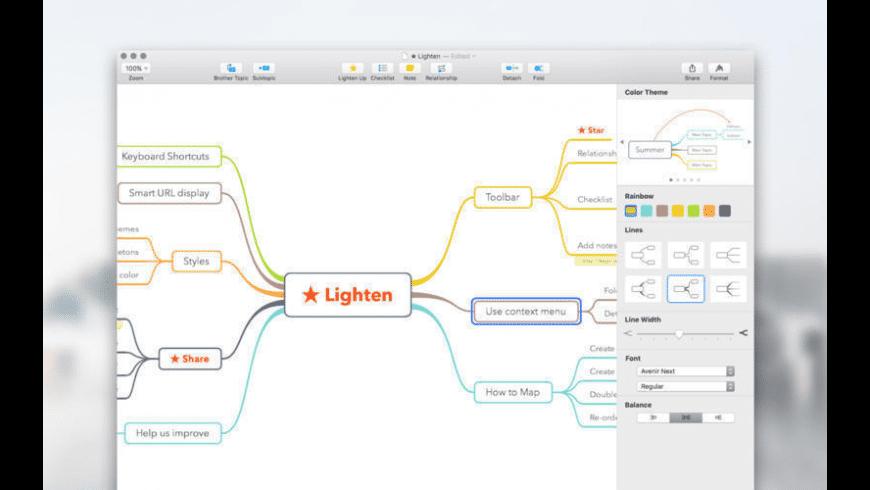 Lighten for Mac - review, screenshots