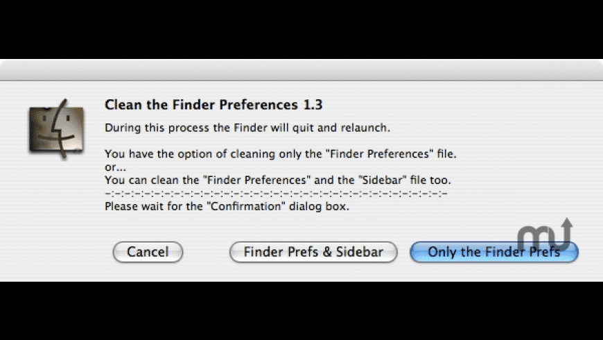 Clean the Finder Preferences for Mac - review, screenshots