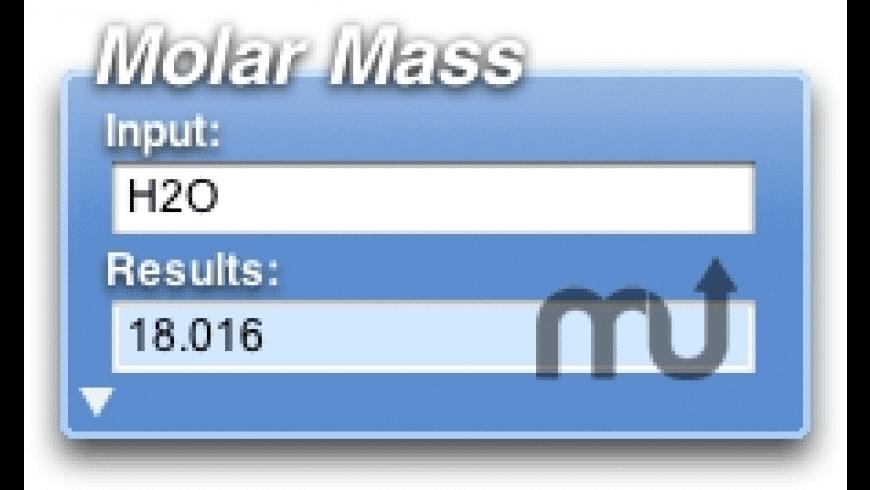Molar Mass for Mac - review, screenshots
