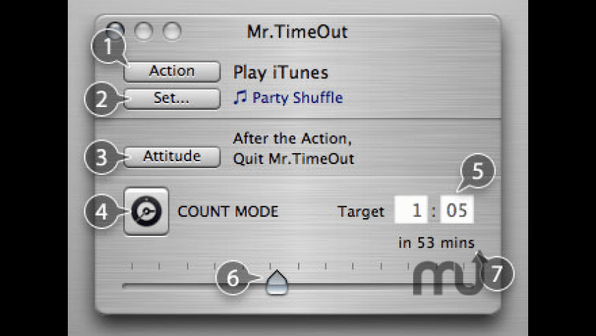 Mr.TimeOut for Mac - review, screenshots