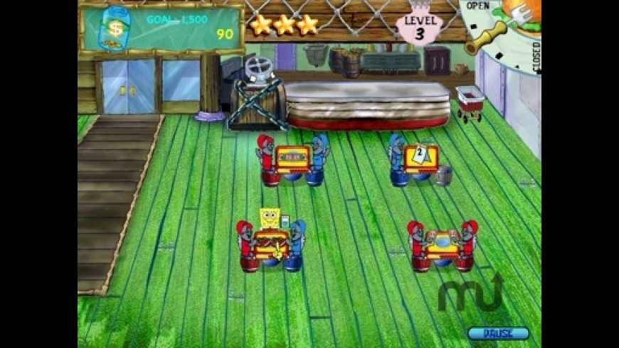 SpongeBob Diner Dash for Mac - review, screenshots