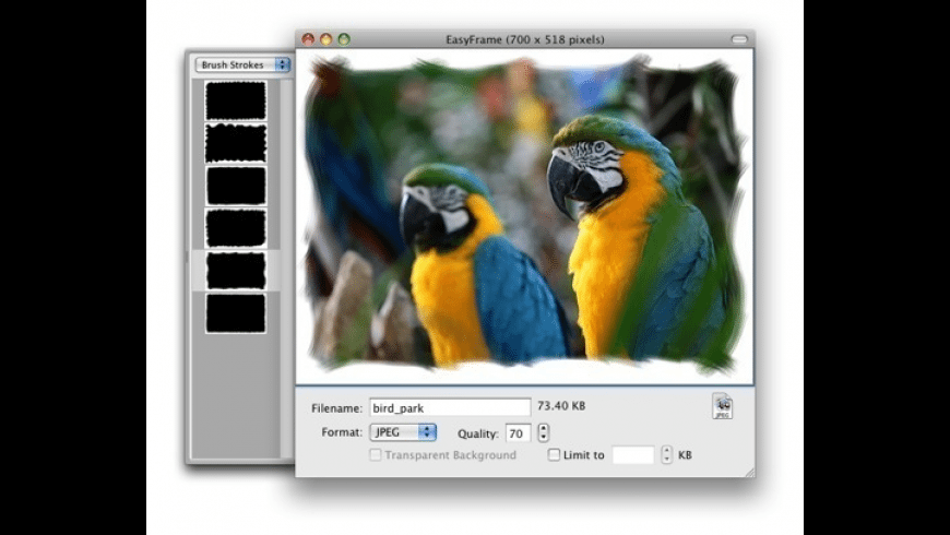 EasyFrame for Mac - review, screenshots