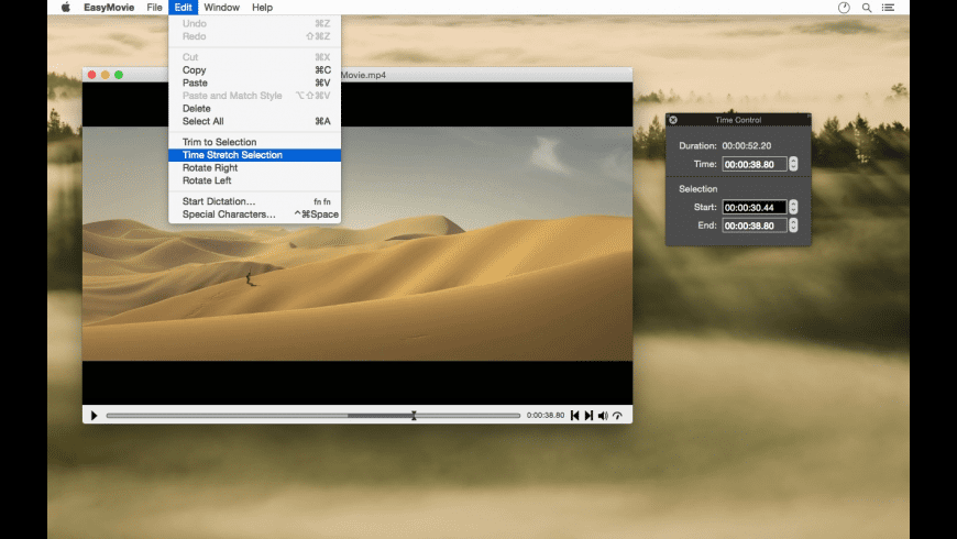EasyMovie for Mac - review, screenshots