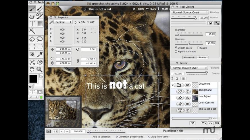 ChocoFlop for Mac - review, screenshots