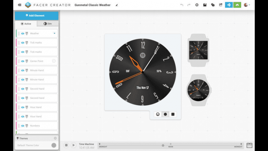 Facer Creator for Mac - review, screenshots